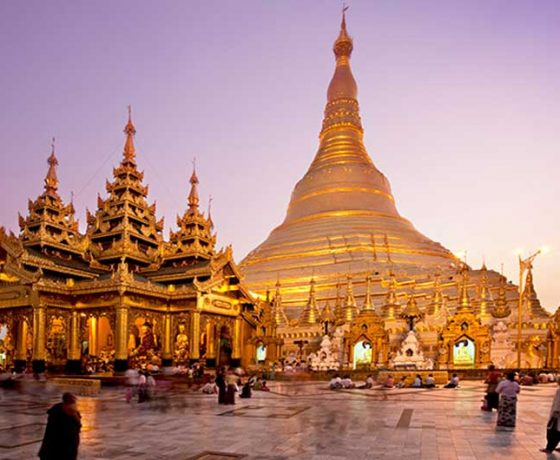 famous places in myanmar